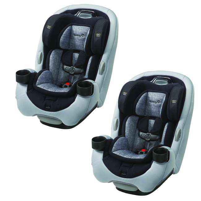 CC190ECJ Safety 1st Grow and Go Ex Air 3 In 1 Baby Convertible Car Seat (2 Pack)