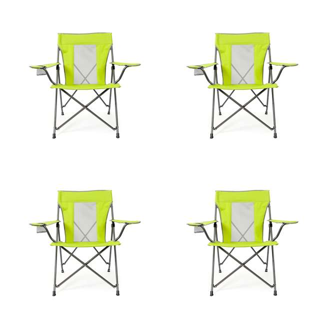4 x MAC-C109S-106 Mac Sports Lusaka Folding Outdoor Camping Chair (4 Pack)