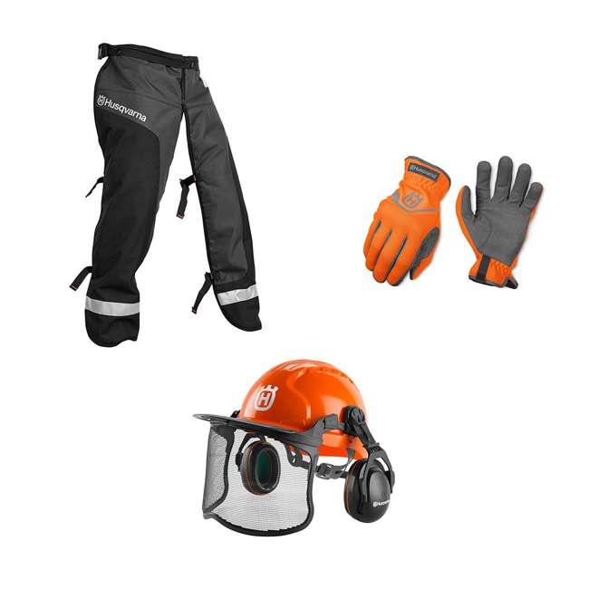 HV-PA-590091101 Husqvarna HV-PA-590091101 Personal Protective Homeowner Kit, Orange & Black
