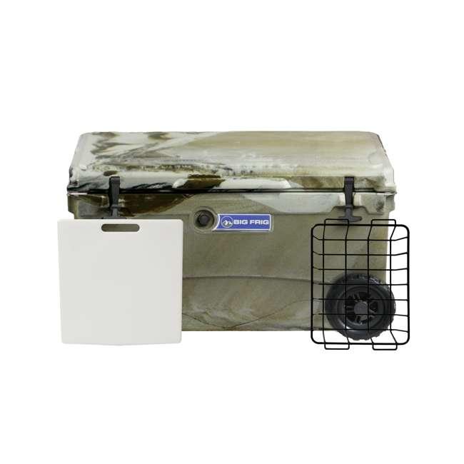 BFDB70WS-DC Big Frig 70 Quart Insulated Plastic Cooler, Camo