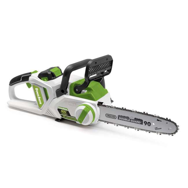 PCS140H PowerSmith 14-Inch Cordless Battery Powered Chainsaw (2 Pack) 1