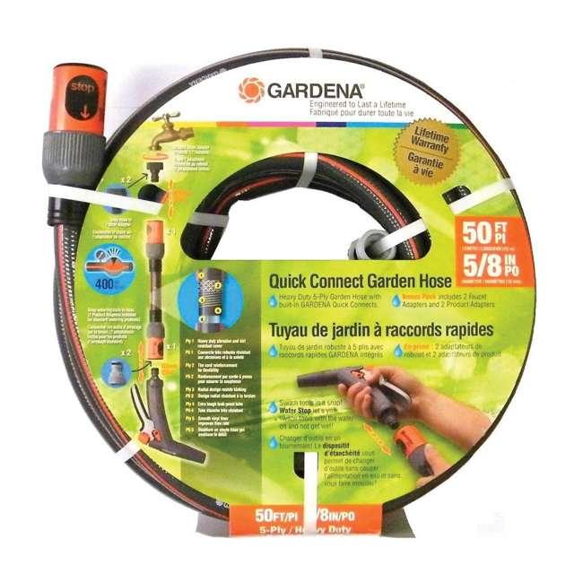 GARD-39000-U Gardena 50 Foot Comfort Quick Connect 5/8-Inch Garden Hose