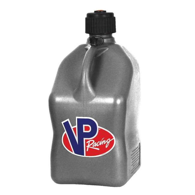 3602 + 3044B VP Racing 5 Gallon Motorsport Racing Fuel Gas Can (2 Pack) w/ 14 Inch Hose Kit 1