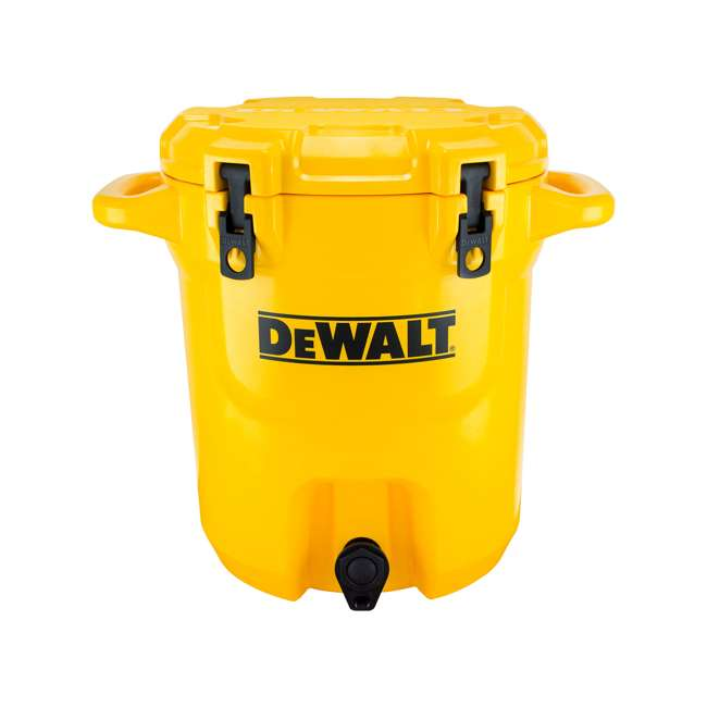 DXC5GAL-U-A DeWALT 5 Gallon Water Jug Dispenser Cooler w/ Spout & Handles, Yellow (Open Box)