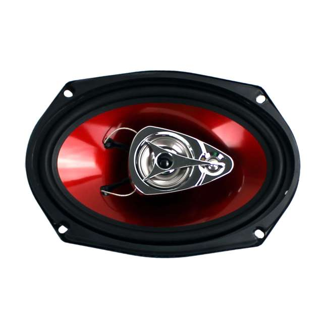 "DB5252 + CH6930 Polk Audio 5.25"" 300 Watt 2 Way + Boss 6x9"" CH6930 3-Way Speakers 8"