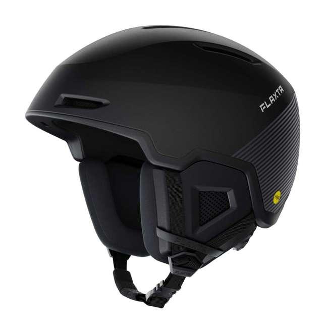 FX901001010LXL Flaxta Exalted MIPs Protective Ski and Snowboard Helmet Large/XL Size, Black