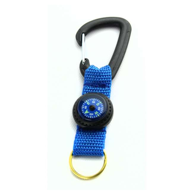 2801025 Silva Carabiner Key Ring and Liquid-Filled Compass 1