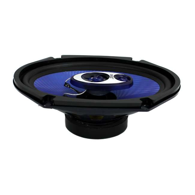 PL683BL Pyle PL683BL Blue Label 6x8-Inch 360W 3-Way Speakers (Pair) 5