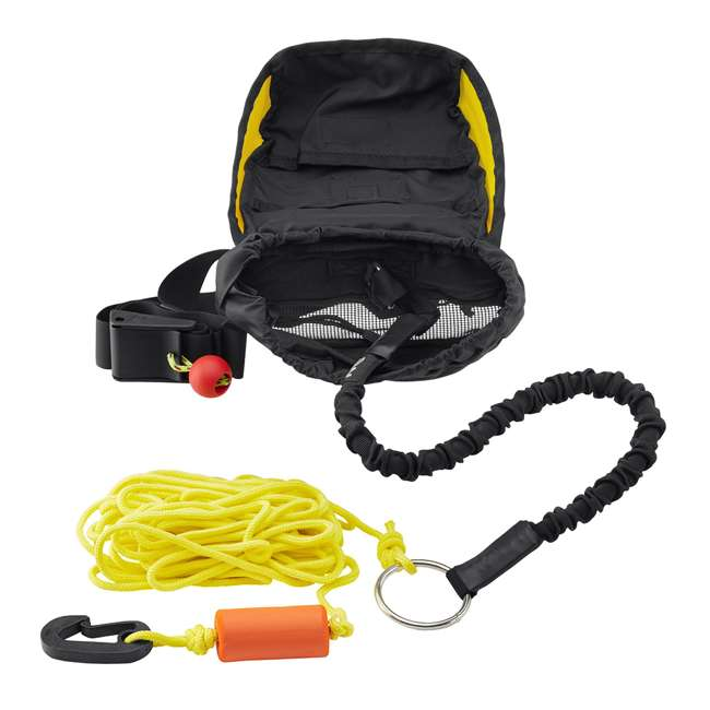 50002.01.100 NRS 50002.01 50-Feet Role Kayak Tow Line with Cordura Bag & 24-Inch Bungee Cord 2