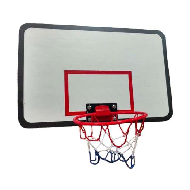 ACC-UBSKU JumpKing ACC-UBSKU Universal Adjustable Trampoline Basketball Hoop w/ Basketball