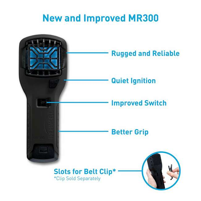 MR300L Thermacell MR300L Mosquito Repellent & Refill with 12 Mats & 4 Fuel Cartridges 6