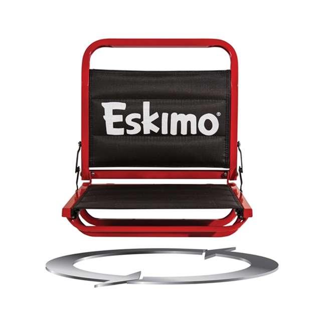 ESK-25502 Eskimo 25502 Evo 2iT 2-Person Portable Ice Fishing Shelter & Sled 3