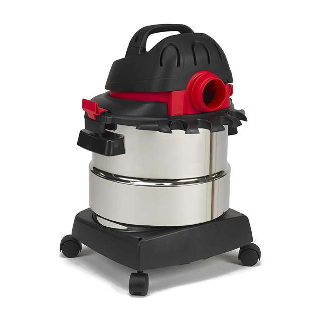 5989300 Shop Vac Stainless Steel Portable 5 Gallon Wet Dry Vacuum Floor Cleaner & Blower 3