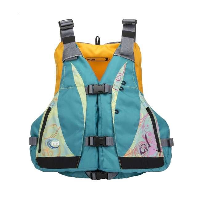 MTI-807J-0BS23 MTI Life Jackets Moxie Adult XS/S Life Jacket, Turquoise