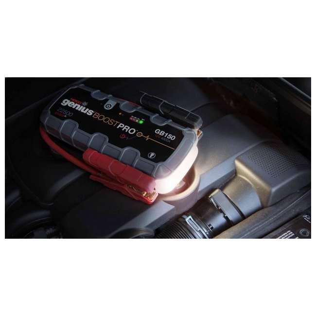 GB150 Noco Genius GB150 Boost Pro 4000-Amp UltraSafe Jump Starter 3