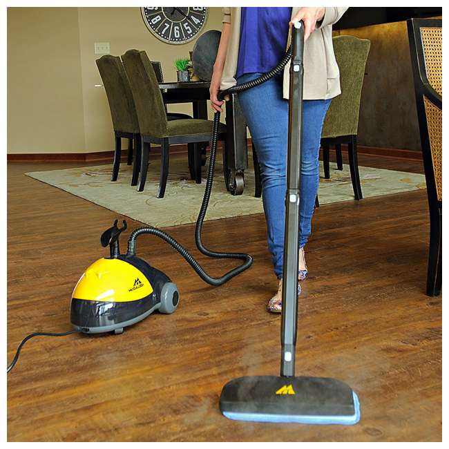 MC1275 + 69955B McCulloch Steam Cleaner & Arm & Hammer Pet Fresh Carpet Cleaner 5