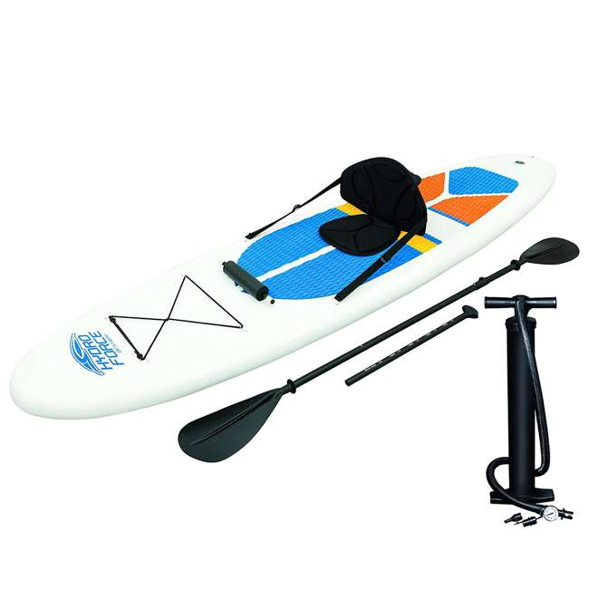4 x 65069-BW-U-A  Bestway Hydro-Force Inflatable SUP Stand Up Paddle Board (Open Box) (4 Pack)