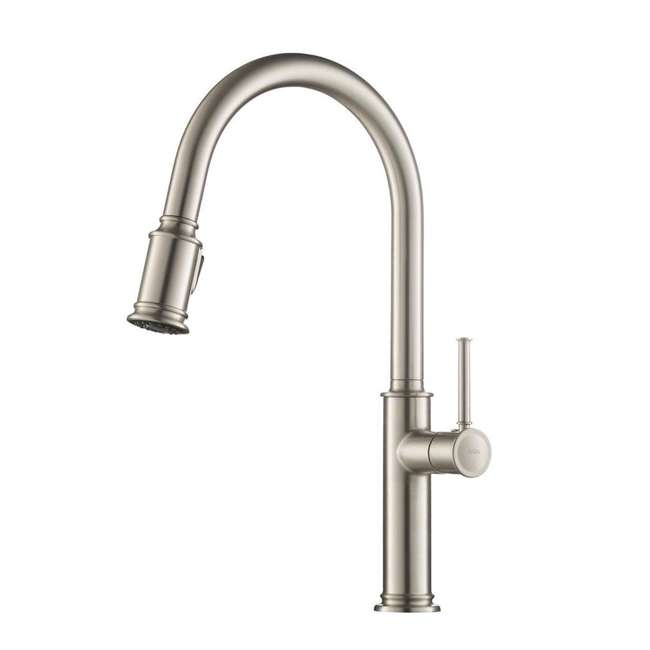 4 x KPF-1680SFS Kraus Sellette Pull-Down Lever Faucet, Stainless Steel (4 Pack) 1