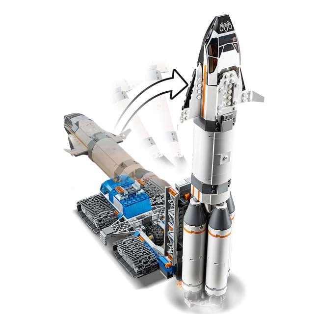 6251738 LEGO City Rocket Assembly & Transport 1055 Piece Building Kit w/ 7 Minifigures 4