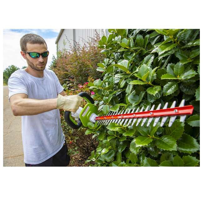 PHT140 Powersmith 40-Volt Max Cordless Hedge Trimmer (2 Pack)  4
