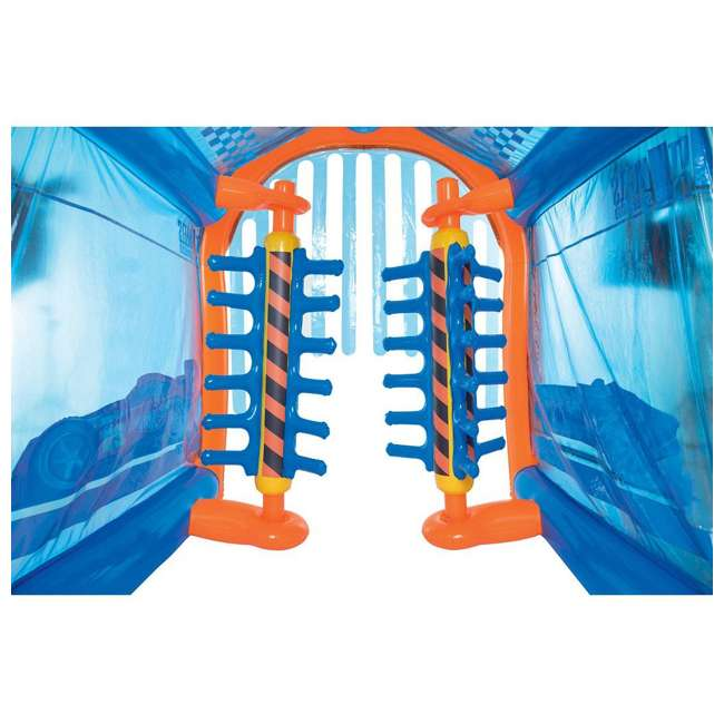 93406E-BW Bestway Inflatable Hot Wheels Car Wash Play Center 3