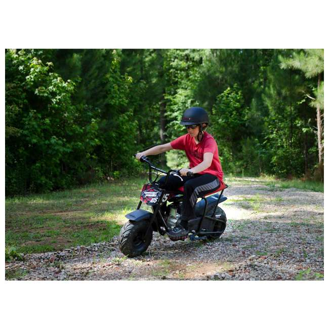 MM-B105-RBS-U-B Monster Moto 150cc Gas Off Road Mini Dirt Motor Bike w/ Suspension (Used) 3