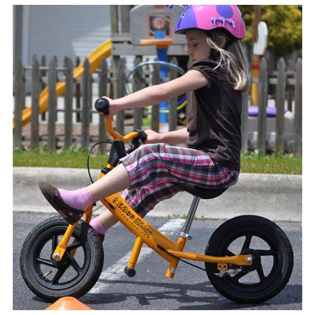 EG12-G Glide Bikes Ezee Glider Unisex Sleek Kids Adjustable Mini Balance Bike, Green 4