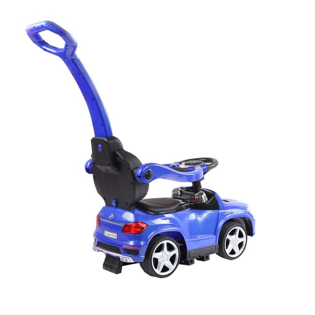 4 in 1 Mercedes Push Car White Best Ride On Cars Baby 4 in 1 Mercedes Push Vehicle, Stroller, & Rocker, Blue 3