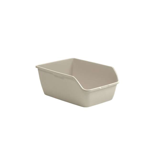 3 x LP3000 Suncast LP3000 Extra Large Easy to Clean Kitty Litter Box, Beige (3 Pack) 1