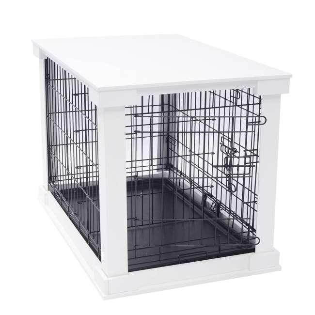 PTH0251720100 Zoovilla Decorative Dog Cat Cage Crate, White