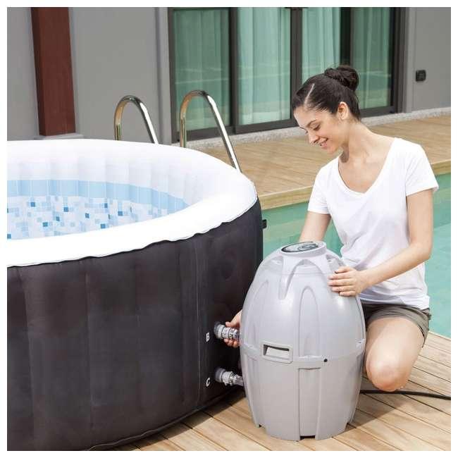 13804-BW + 3 x 90352E-BW Coleman SaluSpa Inflatable Hot Tub + 3 Filter Cartridges 5