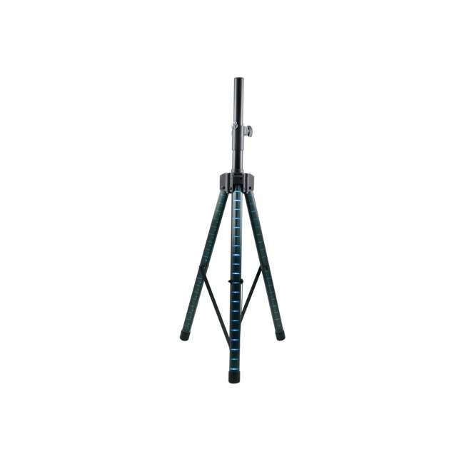 "AS-15P + STL100 Gemini AS-15P Professional Portable 15"" Active Speaker & LED 68"" Speaker Stand 4"