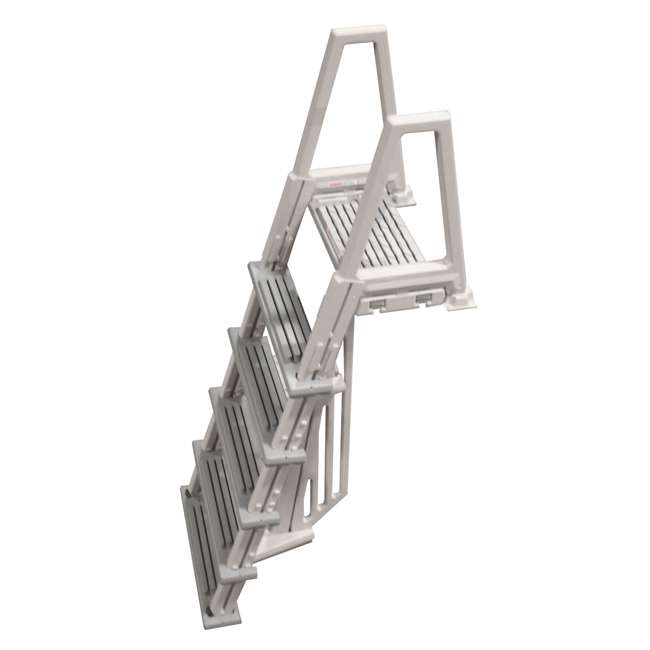 6000X-U-A Confer 46-56 Inch Swimming Pool Ladder (Open Box) (2 Pack) 1