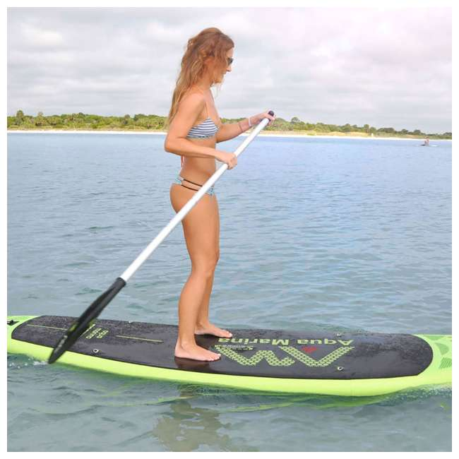 BT-18BRP-U-A Aqua Marina Breeze 9.9 Foot SUP Stand Up Paddleboard, Green (Open Box) 2