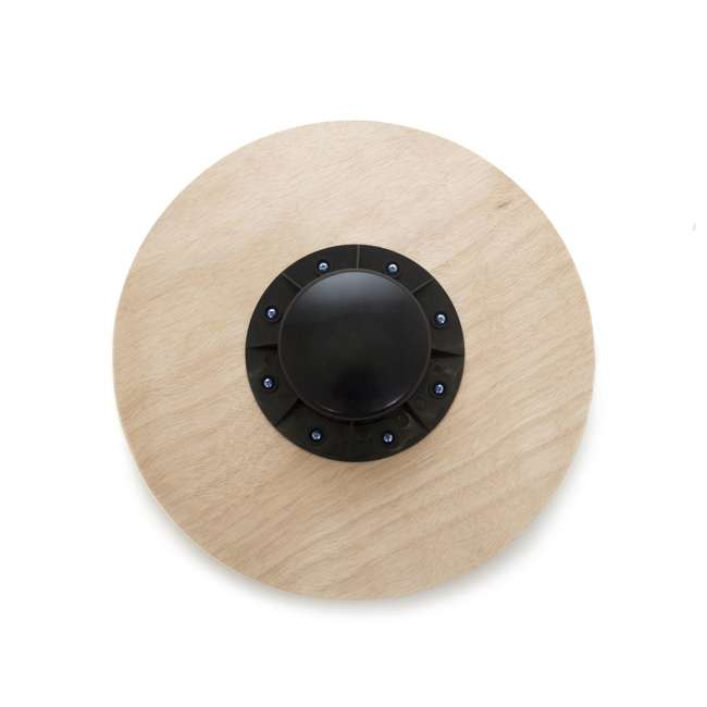 ps-1088-wbb-red Prosource Fit 1088 Round Wooden Gym Exercise Fitness Balance Wobble Board, Red 2