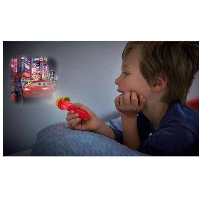 PLC-7178832U0 + PLC-7179632U0 Philips Disney Pixar Cars Projector Flash Light w/ Philips Disney Cars Lamp 2