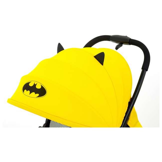 KE-7701BATYL Kids Embrace DC Comics Batman Lightweight Compact Stroller with Canopy, Yellow 1