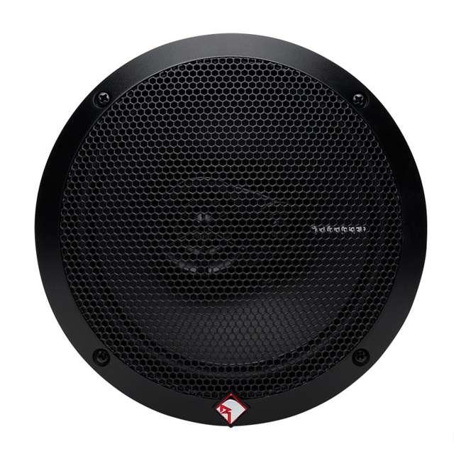 "R165X3-U-A Rockford Fosgate 6.5"" 90W 3 Way Car Audio Coaxial Speakers (Open Box) (4 Pack) 5"