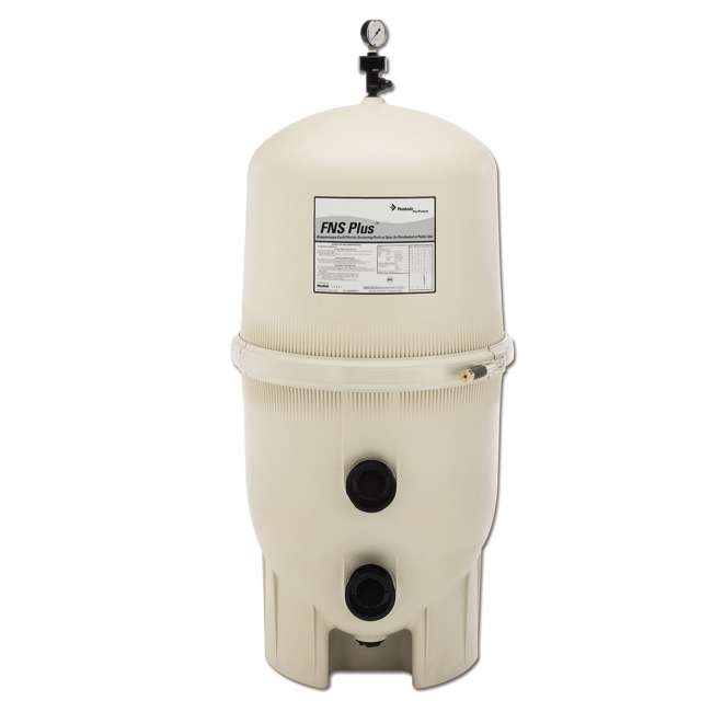 180008 + CPOOL6VFP132GMAGBX Pentair FNS Plus In-Ground Swimming Pool Filter w/ CelaPool DE Filter Powder 1