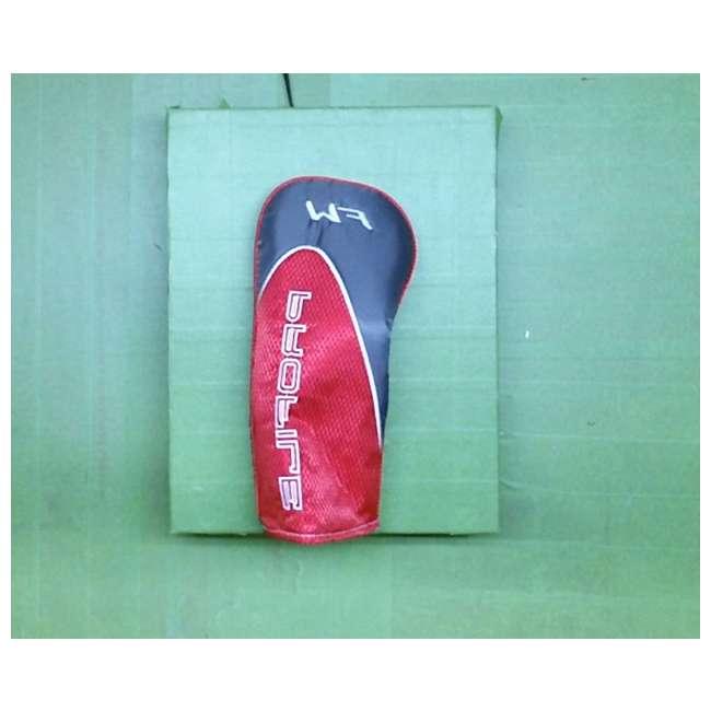 5-wood-WGGC5800 + fairyway-wood-sleeve-WGGC58000 Wilson Profile XD Men's RH Flex Graphite Steel, 5 Wood w/ Head Cover (New Without Box) 1