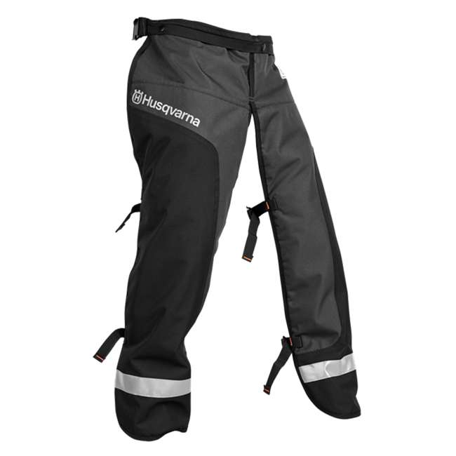 HV-PA-587160703 Husqvarna Functional Apron Chainsaw Chaps Size 40/42, Black