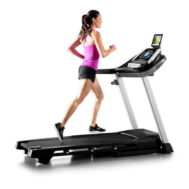 PFTL10916 + WAWkB2017 ProForm 905 CST iFit Folding Treadmill + Weider PowerBell 20 Pound Kettlebell 5
