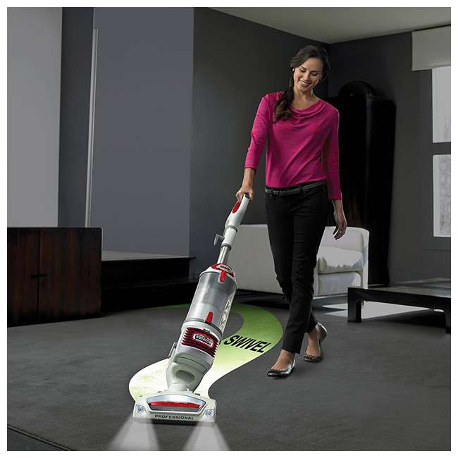 NV501-RB Shark Rotator NV501 Lift Away Bagless Vacuum, Red (Certified Refurbished) 4