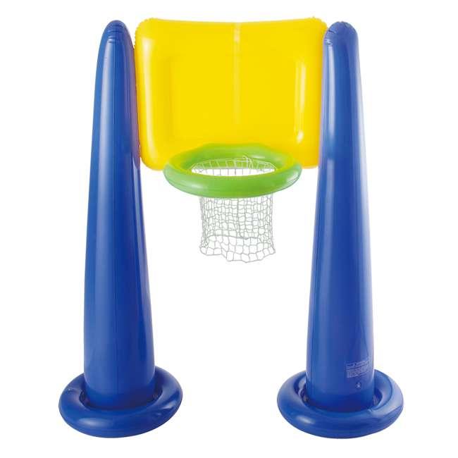 KF0062000167 Big Play Sports Jumbo Inflatable Pool Basketball Hoop Set 3