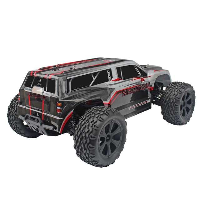 4 x BLACKOUT-XTE-SILVERSUV Redcat Blackout XTE Electric RC Monster Truck SUV (4 Pack) 3