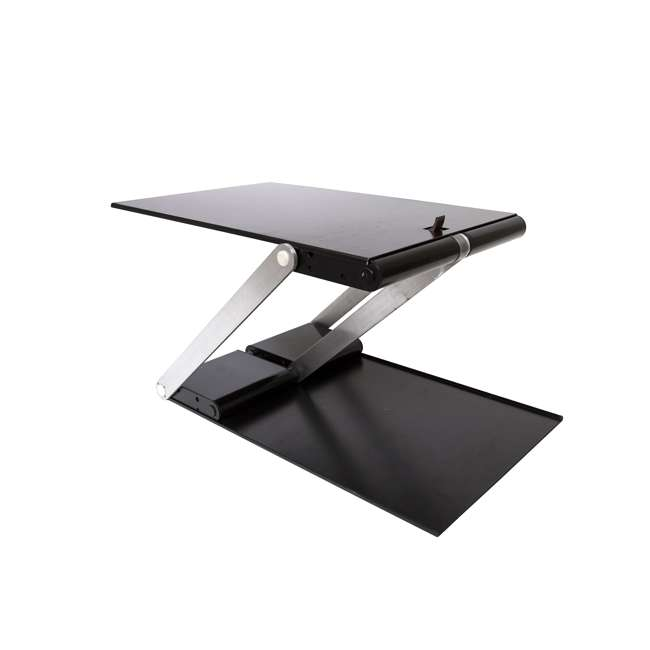 UD-01-BLA Supermoon Products Up2U Height Adjustable Desk, Black (2 Pack) 1