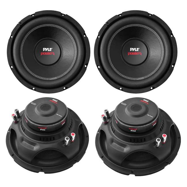 4 x PLPW12D Pyle PLPW12D 12-Inch 1600W Subwoofer (4 Pack)