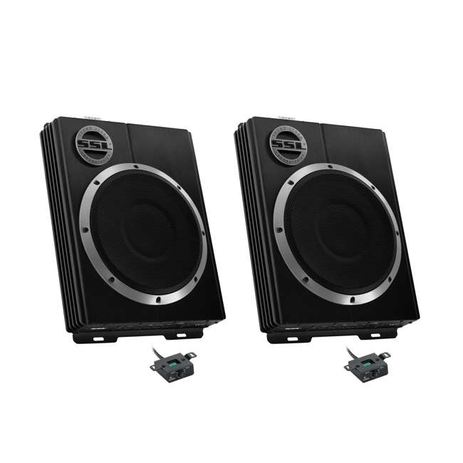 LOPRO8 Soundstorm LOPRO8 8-Inch 600W UnderSeat Powered Subwoofer (2 Pack)