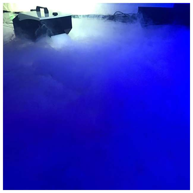 MISTER-KOOL-II American DJ Mister Kool II Water Based Fog Machine Chauvet DJ Hurricane Fog Machine Fluid, 1 Gallon 7