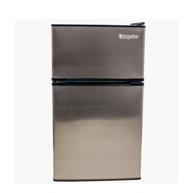 CRF321SS EdgeStar 19 Inch Wide 3.1 Cubic Feet Small Beverage Mini Fridge Freezer (2 Pack) 2